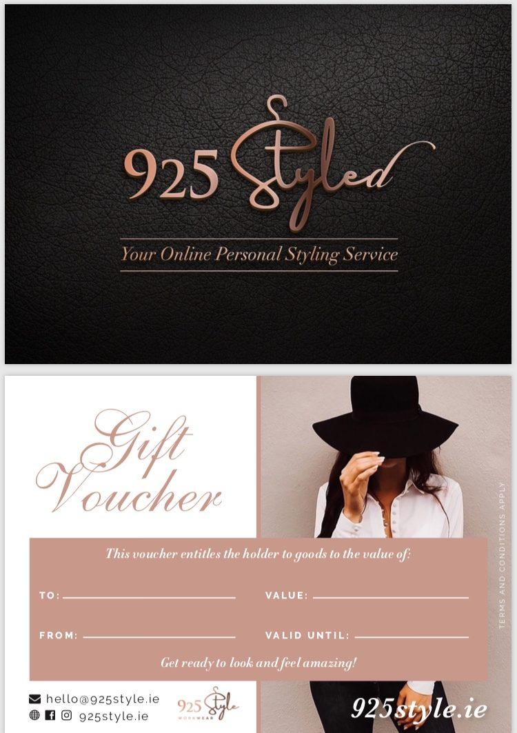 Online Stylist Gift Voucher
